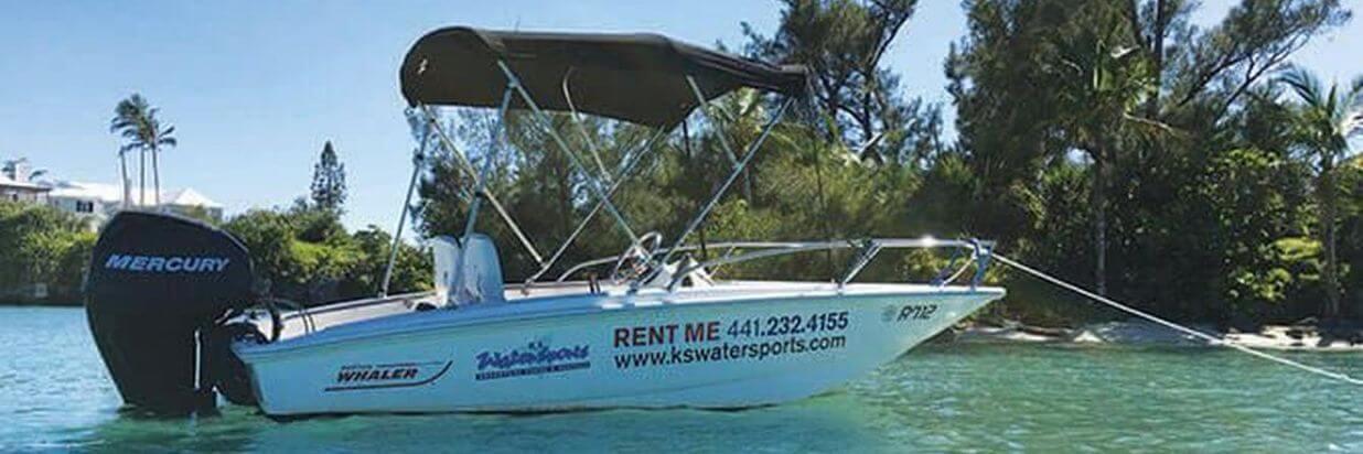 Boating in Bermuda